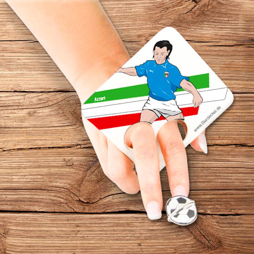 Fußball Bierdeckel