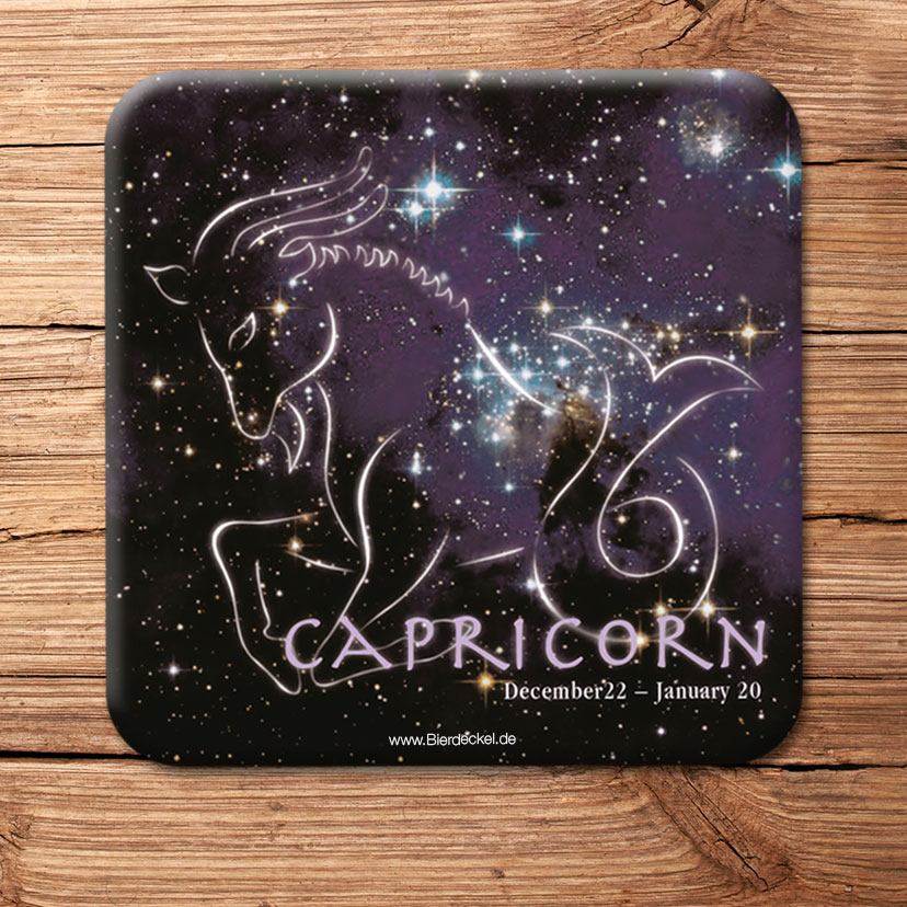 star sign coaster