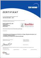 DIN EN ISO 50001 : système de gestion de l'énergie