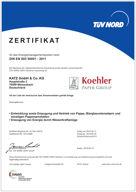 DIN EN ISO 50001: Energiemanagementsystem