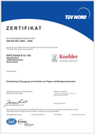 DIN EN ISO 14001: Umweltmanagement