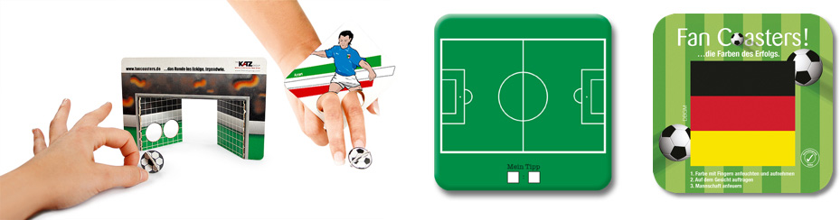 Fussball Coaster Ideen